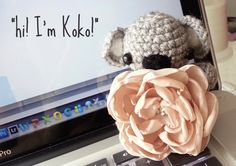 Koko the baby amigurumi koala! (Link to free pattern included)