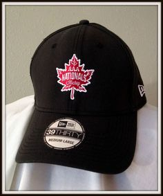 CANADA AAA NATIONALS NEW ERA 39THIRTY EMBROIDERED ADULT MED/LG HOCKEY CAP NWT #NewEra #Canada