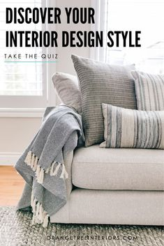 sure what your interior design style is? Take this quick and easy quiz an find out what your style is now. Not sure what your interior design style is? Take this quick and easy quiz an find out what your style is now. Interior Design Styles Quiz, Rooms Ideas, Transitional Living Rooms, Transitional Style, Minimalist Interior, Interior Modern, Midcentury Modern, What's Your Style, Layout