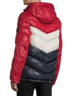 Puffer Jackets, Winter Jackets, Chevron, Dj, Tommy Hilfiger, Coats, Blanket, Fashion, World Of Color