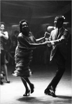 Frank Bauman's image of dancers at the Palladium Ballroom ...
