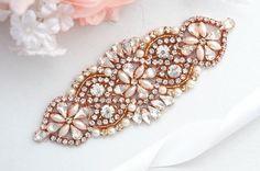 ROSE GOLD SALE Wedding Belt, Bridal Belt, Sash Belt, Crystal Rhinestones sash be