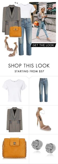 """Get The Look"" by ccoss on Polyvore featuring RE/DONE, Alexander McQueen, Chanel, men's fashion and menswear"