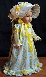 1850 ball gowns for dolls - Google Search