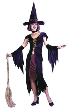 Witchy Witch Adult Halloween Costume