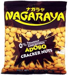 1 Nagaraya Adobo Flavor Cracker Nuts ~ Buy 3 Get 1 Free ! Crackers, Barbecue, Free, Barbecue Pit, Bbq, Biscuit, Barbacoa, Outdoor Parties