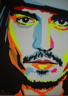 PopArt - JohnnyDepp Yes please!