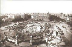 BARCELONA...1924 ,OBRAS DEL GRAN METRO DE LAS RAMBLAS...28-10-2014...!!!