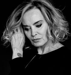 Jessica Lange for Dazed Magazine (June 2015).