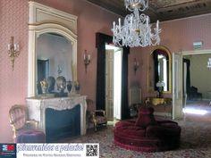 Salón del palacio Bauer, sede de la Escuela Superior de Canto de Madrid.