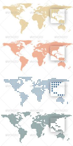 World map global network map design free vector icons pinterest world map by dots and lines gumiabroncs Images
