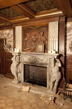 castle fireplaces | Fireplace Unit for Castle by ~TimBakerFX on deviantART