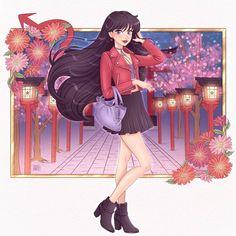 Twitter Icon, Sailor Mars, Anime, Moon, Nerd Stuff, Art, Medium, Instagram, Drawings