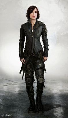 Ellen Page as Kitty Pryde (conceptual art)