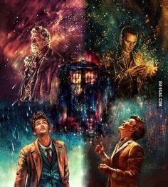War. Nine. Ten. Eleven and TARDIS
