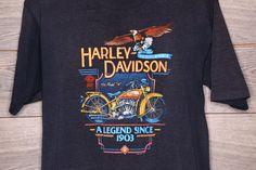 Vintage Harley Davidson tee by AmericanVintageusaco on Etsy