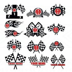 Race Flag Racingflag checkered race race flag svg Svg by Dxfstore Silhouette Vinyl, Silhouette Cameo Projects, Silhouette Design, Vinyl Crafts, Vinyl Projects, Race Cars, Race Racing, Sprint Cars, Dirt Track Racing