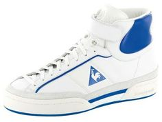 These sneakers defined my youth. It'd be awesome if Le Coq Sportiv recovered this vintage Columbia Hi model <3