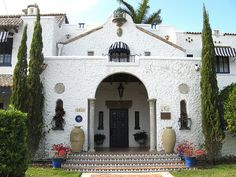 Joseph Young house in Hollywood, FL., built in 1925. Growing up, I always fantasized about living in this house. I still love it!