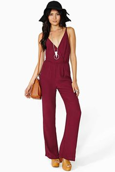 Love Confession Jumpsuit. If only this would ever look good on me