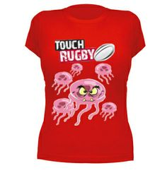 Camiseta chica Rugby Touch#rugbytouch #rugby  #camisetas http://www.latostadora.com/emcmasquecamisetas
