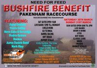 Bushfire Benefit to support the local community.  Farmers are still suffering the fallour from the bushfires.