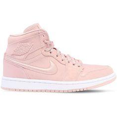 1d3b1e757f8c91 Nike Women Air Jordan 1 Retro High Top Sneakers ( 240) ❤ liked on Polyvore