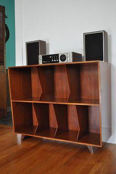 record shelf:
