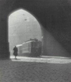Josef Sudek, Morning Tram, 1924
