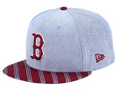 NEW ERA x MLB 「Boston Red Sox Oxford Prep」59Fifty Fitted Baseball Cap