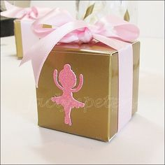 #Pink #Ballerina #Party Boxes
