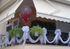 Diy Wedding, Helpful Hints, Wedding Decorations, Ceiling Lights, Porch, Home Decor, Architecture, Weddings, Fiesta Party