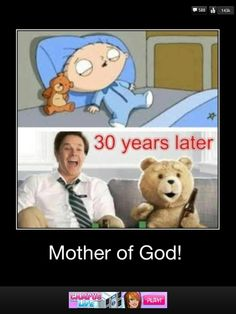 family guy and Ted...