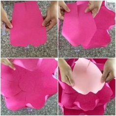 GOOD MORNING  so today I will be in tutorial mode and I wanted to start with TEMPLATE 16  and with this look I rolled all the petals in and will do that for this whole look  I also cut out 7 large petals and then for the next layer I used the same large template and cut out 6 more and with the next layer the light pink I only cut out 5 and then will use 4 more lighter smaller petals for the last ones  next video I'm making with the center  #tutorialmode #diy #handmade #paperflo...