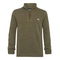 #Weird fish talas ¼ zip soft knit fleece dusky #green,small - #bnwot,  View more on the LINK: http://www.zeppy.io/product/gb/2/391521879750/