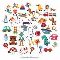 Vielfalt der Kindspielwaren