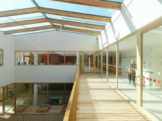 Image 20 of 26 from gallery of Nursing and Retirement Home / Dietger Wissounig Architekten. First Floor Plan Hospital Architecture, Architecture Office, Architecture Design, Apartment Interior Design, Modern Interior Design, Co Housing, Elderly Home, Duplex, Healthcare Design