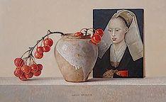 Ode aan Rogier (met appeltakje) 2014 (20 x 32 cm)
