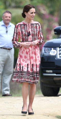 Modest Kate Middleton