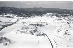 Bredtvet flyfoto 1950