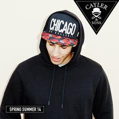 """Stylische Cayler & Sons Snapback-Cap """"Chicago City"""" jetzt für 34,99 Euro unter www.snipes.com/caylerandsons erhältlich. #snipes #caylerandsons #headwear"""