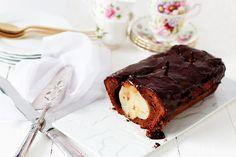Gâteau surprise poire-chocolat
