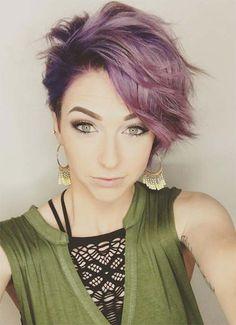 Short Hairstyles for Women: Wavy Pixie #shorthairstyles
