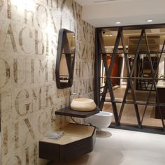 Wallpaper and glass fiber by Inkiostro Bianco