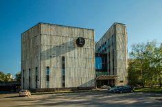 Institute of Bioorganic Chemistry Architect: Y.P. Platonov