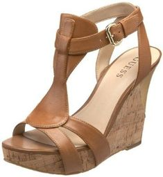 Perfect Summer wedges love these Pretty Shoes, Beautiful Shoes, Cute Shoes, Me Too Shoes, Guess Shoes, Wedge Sandals, Shoes Sandals, Shoe Wedges, Womens Shoes Wedges