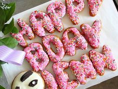 California Donuts is our go-to for trendy non-cake celebratory desserts. Happy Birthday Donut, 12th Birthday, Birthday Parties, Birthday Ideas, Kid Parties, Birthday Bash, Baby Birthday, California Donuts, Southern California