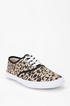 ea1463ce1560d Cheetah Print Plimsoll Sneaker Modern Hippie Style