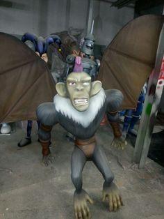 Macaco voador finalizado