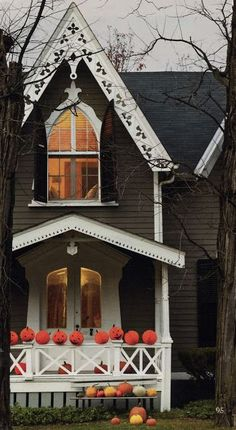 "Victorian ""Pumpkin House""  Fresh Farmhouse"